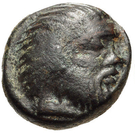 Bronze Æ9 (Nagidos) – avers