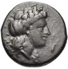Bronze Æ14 (Nagidos) – avers