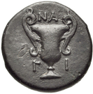 Bronze Æ14 (Nagidos) – revers