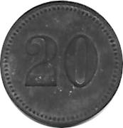 20 pfennig - Nagold – revers