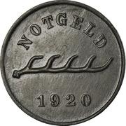 10 Pfennig - Nagold – revers