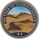 1 dollar (Indépendance) – revers