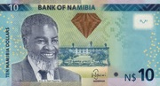 10 Namibia Dollars – avers