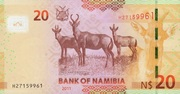 20 Namibia Dollars – revers