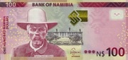 100 Namibia Dollars – avers