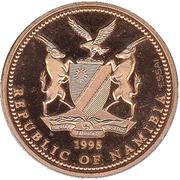 10 dollars (5e anniversaire de l'indépendance ; essai) – avers