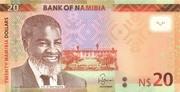 20 Namibian Dollars – avers
