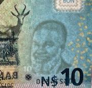 10 Namibia Dollars -  avers