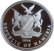 10 dollars (Jeux Olympiques Atlanta 1996) – avers