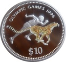 10 dollars (Jeux Olympiques Atlanta 1996) – revers
