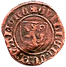 Double mite - Guillaume II Comte de Namur – avers
