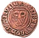 Double mite - Guillaume II Comte de Namur – revers