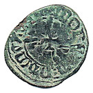 Double mite - Jean III (dit Thierri) – revers