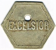 20 centimes - Excelsior - Nancy (54) – avers