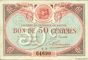 50 centimes - Chambre de Commerce de Nantes [44] – avers
