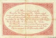 50 centimes - Chambre de Commerce de Nantes [44] – revers