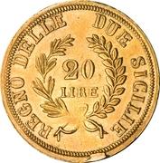 20 Lire - Joachim Murat – revers
