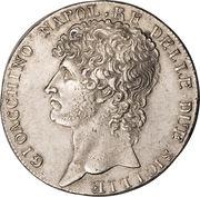 12 carlini - Joachim Murat – avers