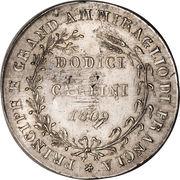 12 carlini - Joachim Murat – revers