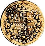 2 ducati - Ferdinando IV – revers
