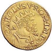 2 scudo d'Oro - Carlo V – avers