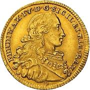 4 ducati - Ferdinando IV – avers