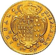 4 ducati - Ferdinando IV – revers