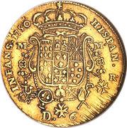 6 ducati - Carlos III – revers