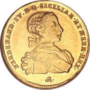 6 ducati - Fernando IV – avers