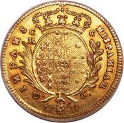 6 ducati - Fernando IV – revers