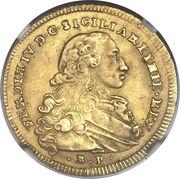 6 Ducati - Ferdinando IV – avers