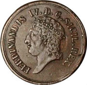 8 Tornesi Fernando IV – avers