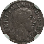 3 Cavalli - Ferdinando IV – avers
