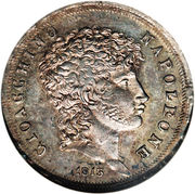 1 lira - Joachim Murat – avers
