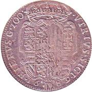 1 Ducato, 100 grani - Carlos II -  avers