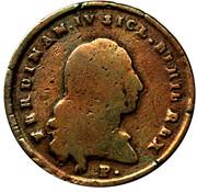 4 Tornesi - Ferdinando IV – avers