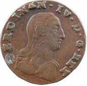 1 tornese - Ferdinando IV – avers
