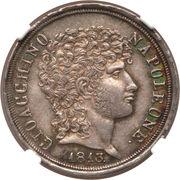 2 Lire 1813 Joachim Murat – avers