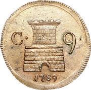 9 cavalli - Fernando IV – revers