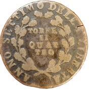 4 Tornesi repubblica napoletana Anno VII della liberta' – revers