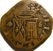 Grano (2 Tornesi) Felipe IV – revers
