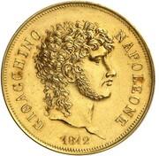 2 lire - Joachim Murat (Essai en or) – avers