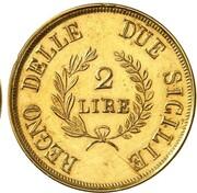 2 lire - Joachim Murat (Essai en or) – revers