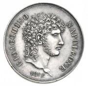 2 lire - Joachim Murat (Essai en argent) – avers