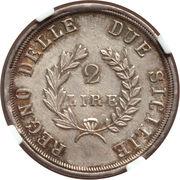 2 Lire 1813 Joachim Murat – revers