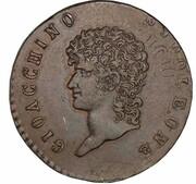3 Centesimi - Joachim Murat – avers