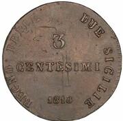 3 Centesimi - Joachim Murat – revers