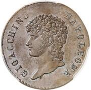 5 Centesimi - Joachim Murat – avers