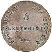 5 Centesimi - Joachim Murat – revers