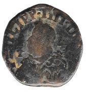 1 Grano - Felipe IV – avers